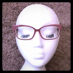 Mauve eyeglasses